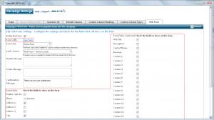 Configure Web Form