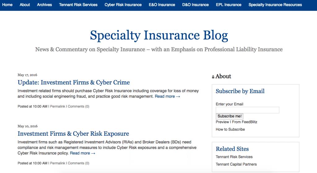 specialty-insurance-blog