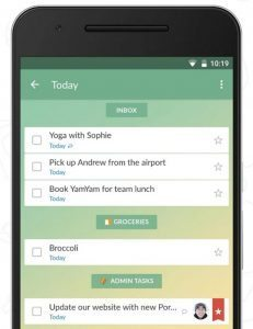 wunderlist best apps for salespeople