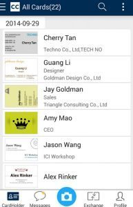 best apps for salespeople cardcam