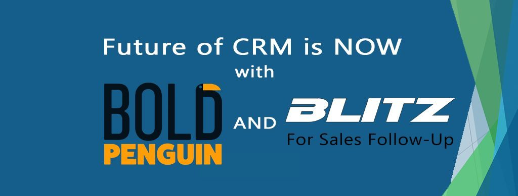 Blitz Partners with Bold Penguin to Develop the Future of CRM for Insurance Agents