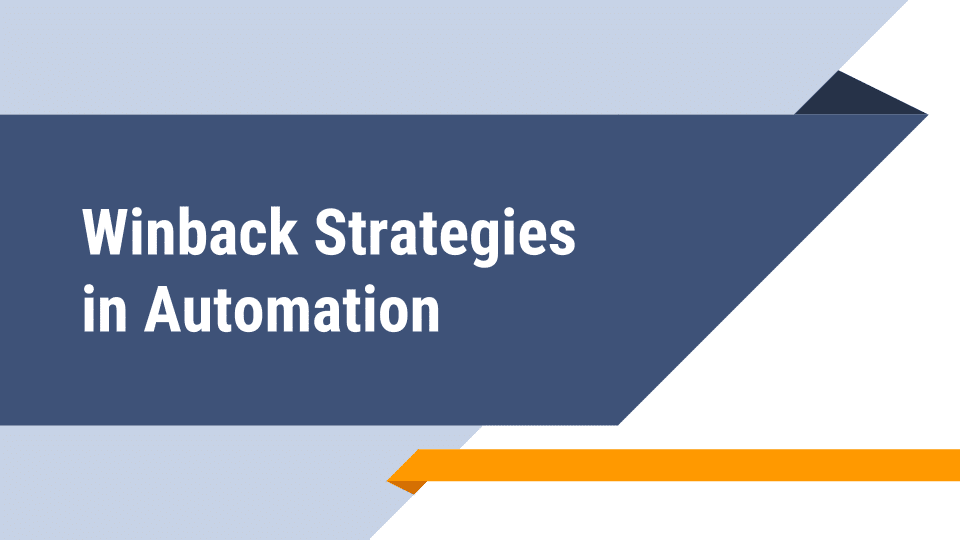 New Webinar: How to Automate Your Win-back Strategies
